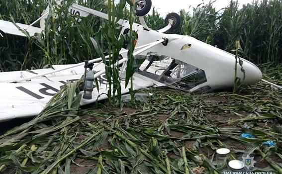 Смертельное крушение самолета в Украине: в Сети опубликовано фото