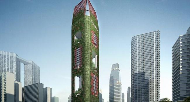 Эксперты показали самый красивый небоскреб этого года
