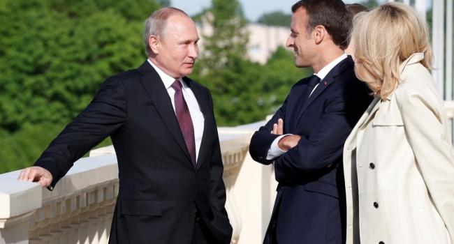 Президент Франции говорил с Путиным о Сенцове