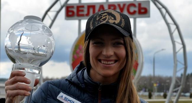 Дарья Домрачева попала в ДТП