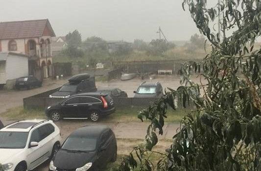 На Кирилловку обрушился сильнейший шторм