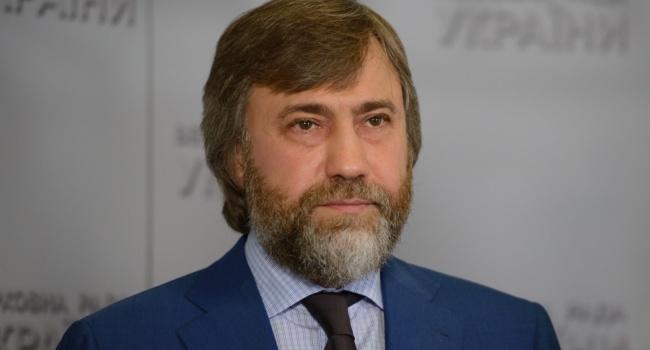 Нардеп Новинский угодил в базу «Миротворца