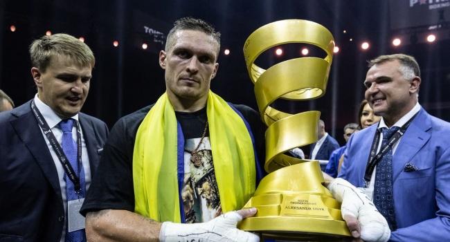 Британский боксер Беллью анонсировал бой с Усиком