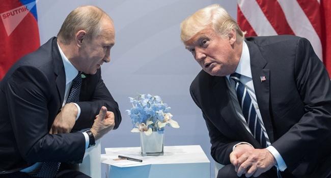 Переговоры Трампа и Путина