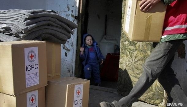 МККК направил внеподконтрольную Киеву часть Донбасса неменее 100 тонн гуманитарной помощи