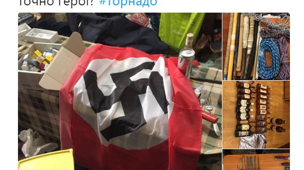 Как сидят бойцы «Торнадо»: в камере СИЗО найдена свастика и много запрещенных предметов