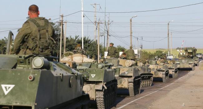 Путинскую военную технику заметили в Крыму