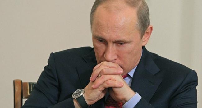 Путин уже знает о надвигающейся на Россию катастрофе, - эксперт