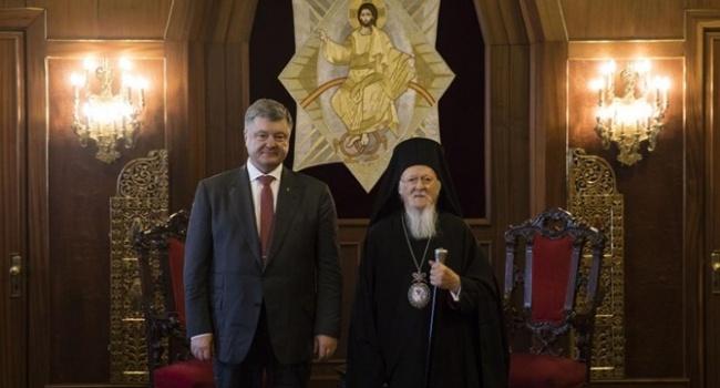 Порошенко: с мнением Москвы в вопросе предоставления томоса больше никто не считается