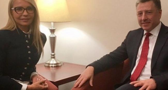 В США поддерживают Юлию Тимошенко, а также выступают за целостность Украины - политик
