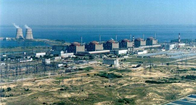 Первый блок Запорожской АЭС остановлен