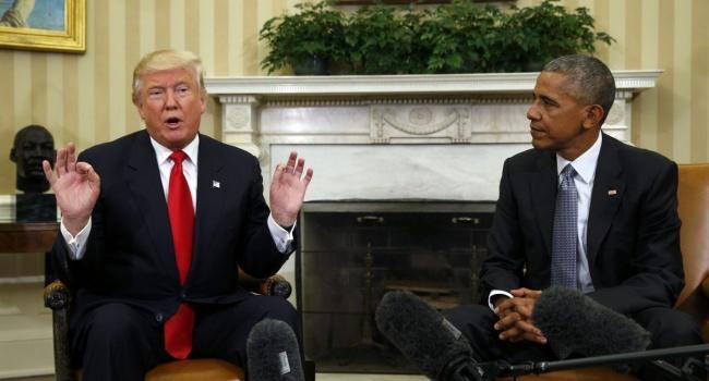 «Очень хорош, чтобы спать»: Трамп резко прокомментировал критику Обамы в свой адрес
