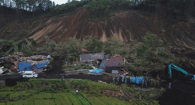 Землетрясение в Японии: от острова Хоккайдо ничего не осталось