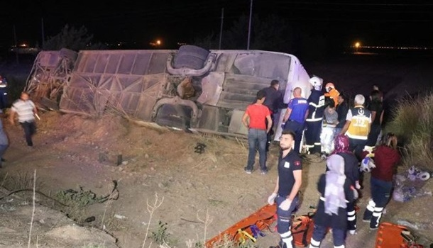 ДТП с туристическим автобусом в Турции: погибли шестеро человек