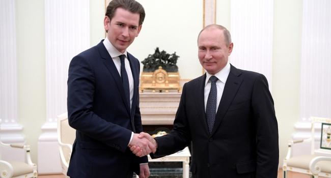 Против России нельзя: Курц отличился скандальным заявлением