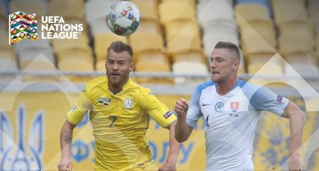 Слава Украине! Ярмоленко забил победоносный гол в матче Украина – Словакия