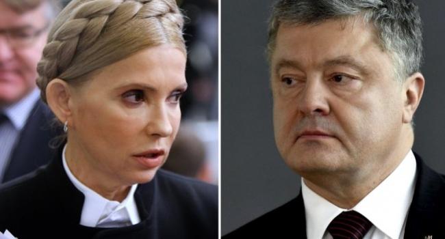 Шутки заканчиваются, украинский избиратель наконец-то начал мыслить рационально: Тимошенко и Порошенко во втором туре