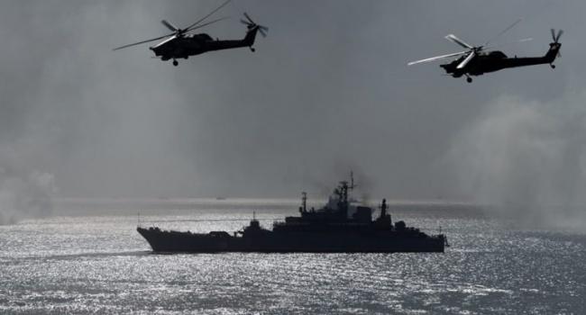 Военные корабли Украины вторглись взону РФ