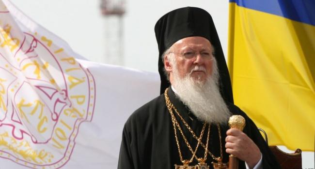 «Настал черед Украины»: Патриарх Варфоломей рассказал, когда УПЦ получит автокефалию