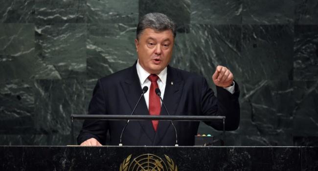 Пономарь: президент выступил с очень сильным обращением