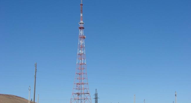 В Донецкой области построили самую высокую в Украине телебашню
