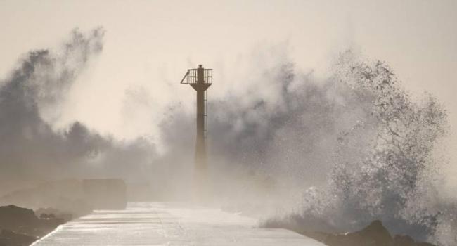 В Южной Корее бушует тайфун. Отменены авиарейсы