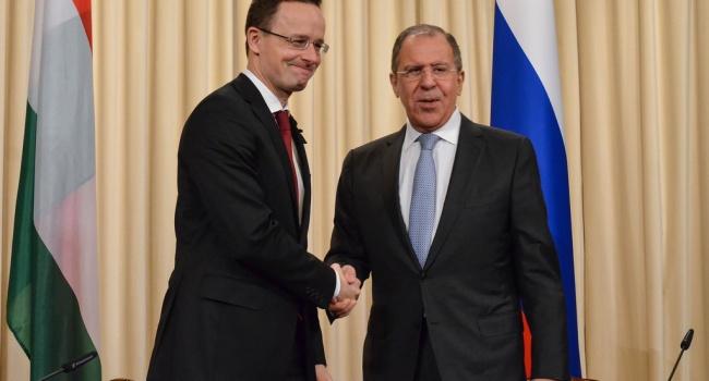 Сиярто и Лавров сделали общее заявление по Украине