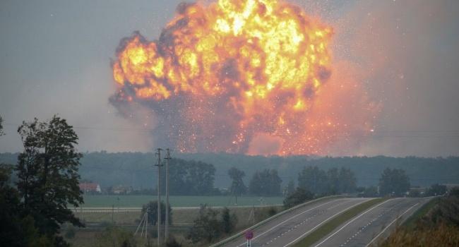 В Ичне до сих пор неспокойно: на территории арсенала МИ наблюдается одиночная детонация, - ГСЧС