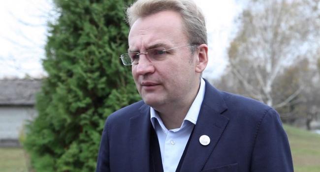 Мэр Львова Садовый предложил закрыть Харьковскую ОГА
