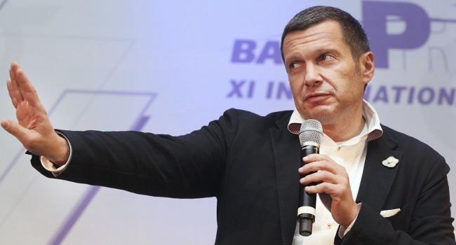 Соловьев показал «настоящие» границы Украины