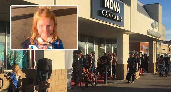 В Канаде девочка-скаут продала 30 пачек печенья людям, выстроившимся в очередь за марихуаной