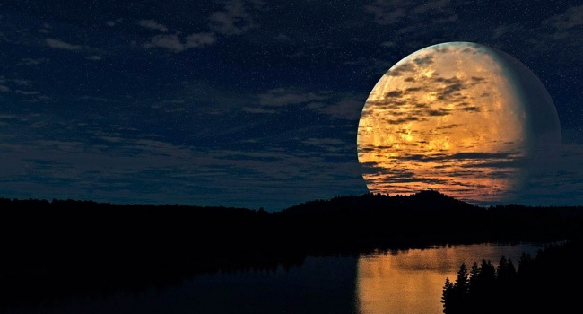 Исследователи: возле Луны появился огромный корабль пришельцев