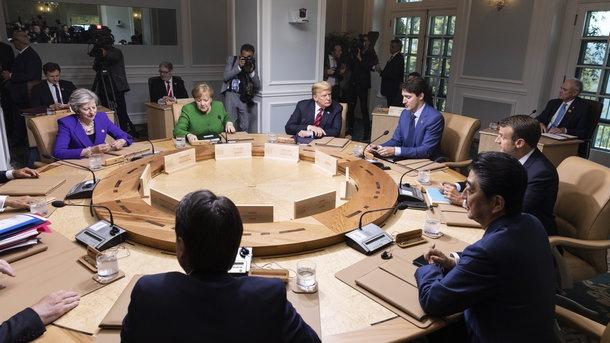 Руководителя  МИД G7 сделали объявление  поповоду инцидента вКерченском проливе