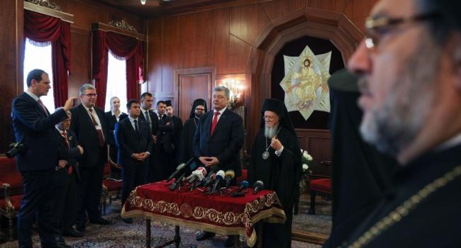 Нусс: теперь должно быть понятно каждому, почему у Варфоломея приравняли вклад Порошенко с трудами равноапостольного князя Владимира