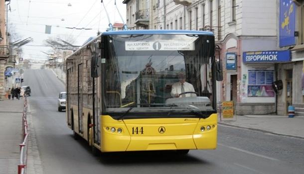 Тернопольские маршрутчики отказались работать в связи со снижением тарифов