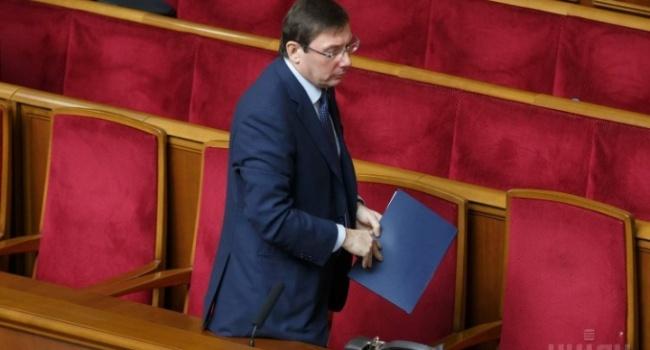 Политолог: Луценко впервые в истории украинской политики показал, как цивилизационно можно решить спорный вопрос