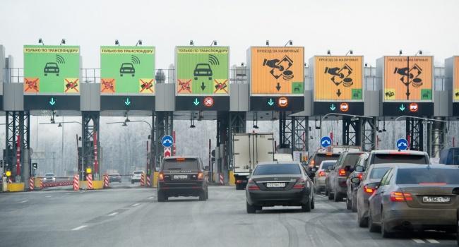 Озвучена стоимость проезда по платным дорогам Украины