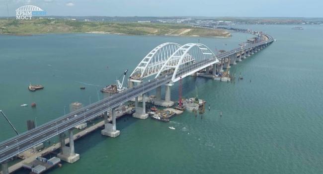 В Евросоюзе заявили о негативном влиянии Крымского моста на украинскую экономику