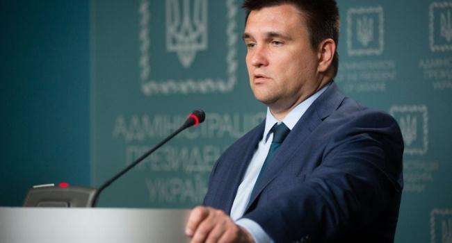 Климкин пригрозил Российской Федерации  усилением санкций из-за выборов вДонбассе