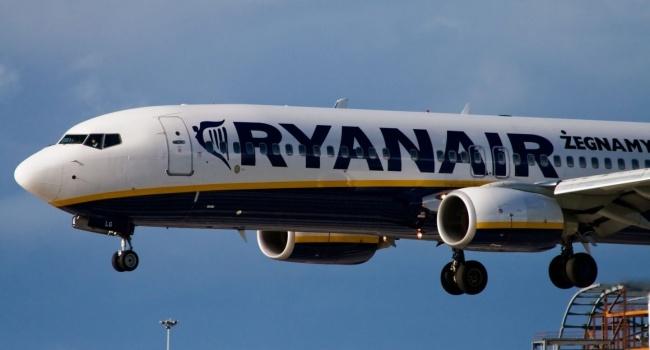 Ryanair хочет инвестировать в Украинское государство $1,5 млрд