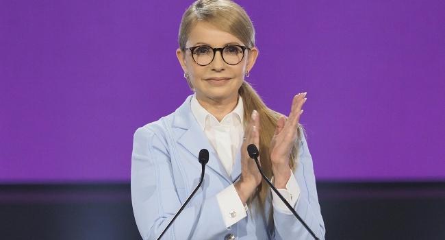 Тимошенко предложила всем украинцам заключить с ней контракт и сравнила президентов Украины с черепахами «карета-каретта»