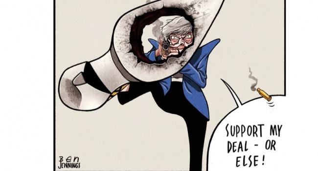 Карикатуристы вовсю глумятся над Терезой Мэй