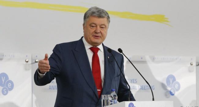 Блогер: давно говорил, что в Украине есть только один настоящий политик – Порох, оцените красоту игры – военное положение сдвинуто в сроках