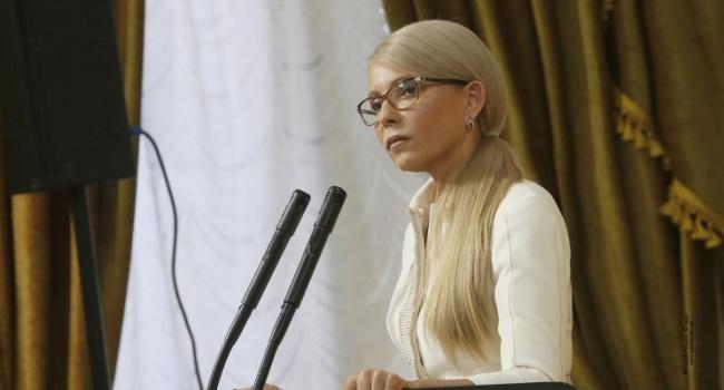 Тимошенко-президент – это марионетка олигархов, либо марионетка Москвы, третьего не дано