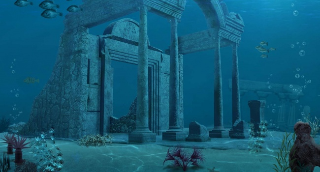 Найдены руины Атлантиды