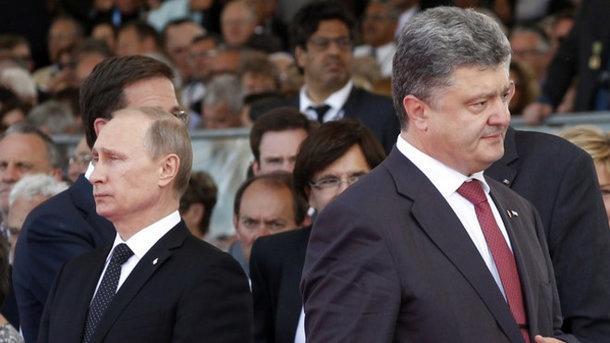 В РФ рассказали, почему Путин избегает Порошенко