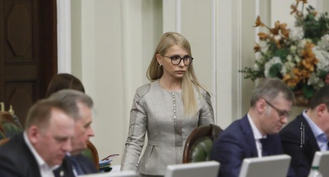 Нусс: Тимошенко перестала скрывать, что является кандидатом Кремля