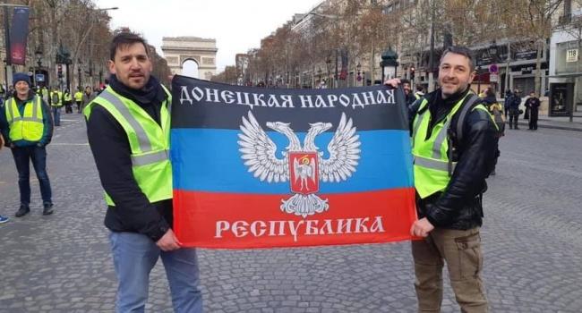 За этими левацкими «шариковыми» стоят такие личности, как Ле Пен и Путин, – блогер