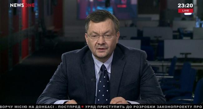 Пиховшек вчера на «NewsOne» чуть ли не в слезах вышел на эфир и тихонечко озвучил новый бред от Кремля