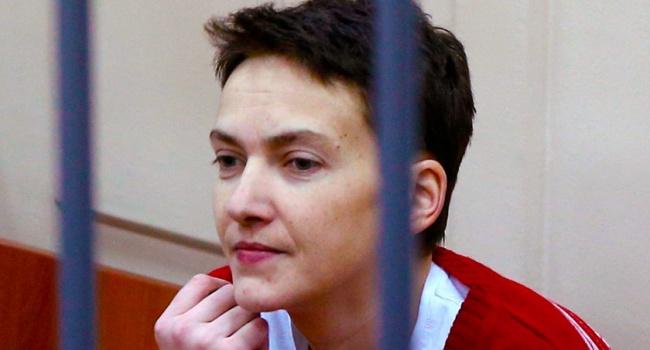 Савченко ещё долго будет оставаться за решёткой